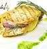 Отбивная из двух видов мяса со свиной корейкой, моцареллой и чесноком