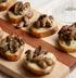Сырно-грибные кростини