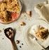 Пирог с ревенем и мороженым