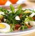 Салат из одуванчиков с яйцом и капустой