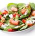 Салат из клубники с творожным сыром