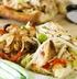 Тайская пицца с курицей