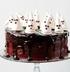 Halloween: шоколадный торт с привидениями из безе