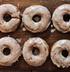 Тыквенные пончики с глазурью
