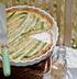 Пирог со спаржей и чеддером
