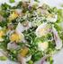 Салат с сельдью и перепелиным яйцом