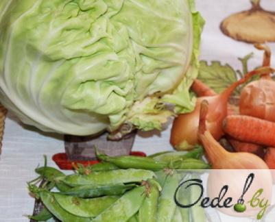 Классическая тушеная капуста с томатной пастой