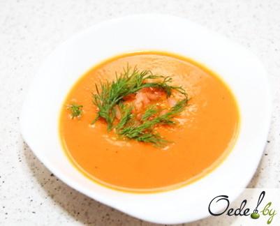 Рецепт томатный суп с креветками рецепт